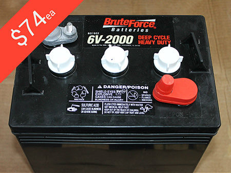 6V Golf Cart Batteries